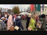 Городской праздник Марьяне в День народного единства.Фольклорно-хореографический ансамбль