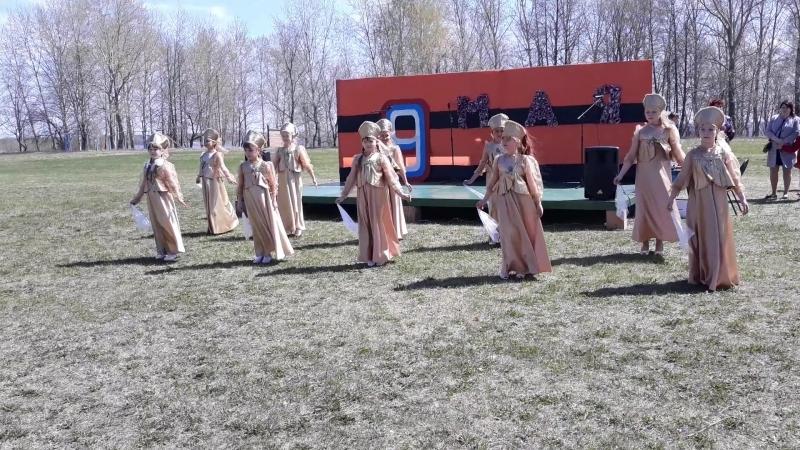 Детский танцевальный коллектив Аэлита. Танец Русский лирический