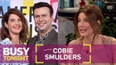 Sparks Almost Didn't Fly Between Cobie Smulders Taran Killam | Busy Tonight | E!