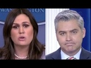 Top 10 Times Sarah Sanders DESTROYED Jim Acosta