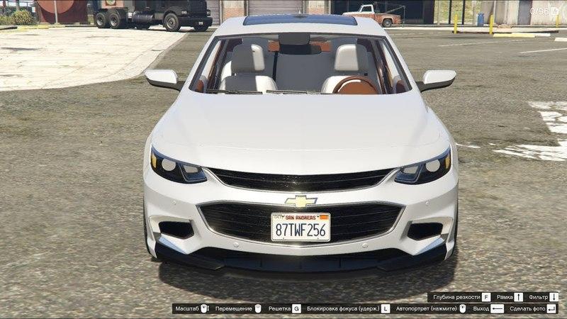 GTA 5 2018 Chevrolet Malibu 2 0T Premier
