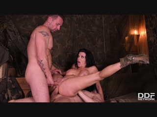 Veronica Avluv — Military Action In Her Back Section