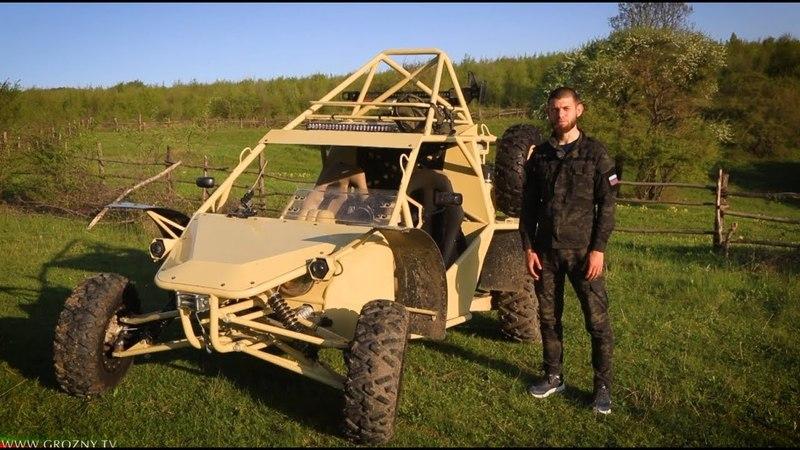 Тест-драйв ЧаБорз М-3 (вездеход-багги) от «Grozny Motors»
