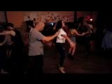 Salsa social dancing Денис Брылёв и Ирина Билоус ДР Boogaloo (Ростов) 2.06.2018
