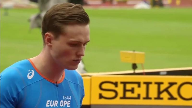 Men's 400m Hurdles Athletics Continental Cup Day 1 Ostrava 2018