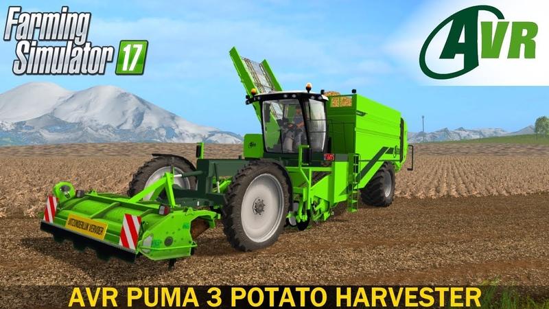 Farming Simulator 17 AVR PUMA 3 SELF-PROPELLED POTATO HARVESTER