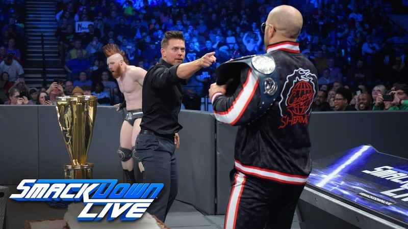 [BMBA] The Bar crashes Shane McMahons Best Birthday Bash in The World SmackDown LIVE, Jan. 14, 2019