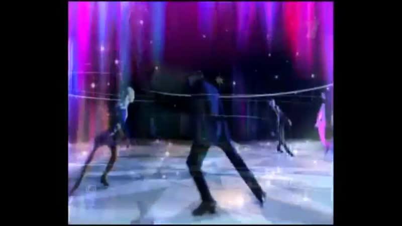 Заставка программы Звёзды на льду (Первый канал, 02.09.2006-14.10.2006)