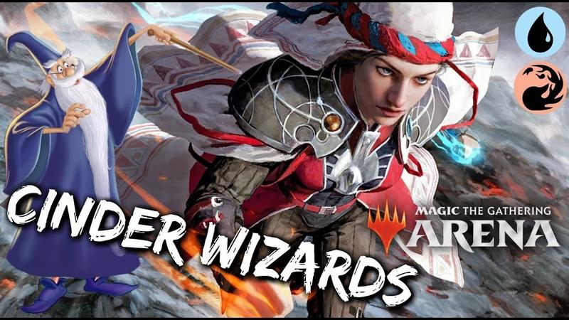 Cinder Wizards [MTG Arena] | Red-Blue (Izzet) Wizards in M19 Standard