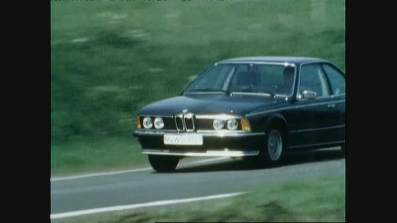 BMW 635 CSi E24 Commercial video