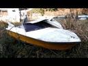 30年放置のボートを復活さす! 素人レストア 【総集編】 (22) Old Boat Restoration highlights. 1974' 14ft boat