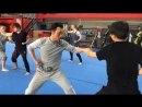 Тренинг команды Джеки Чана Andy Le.