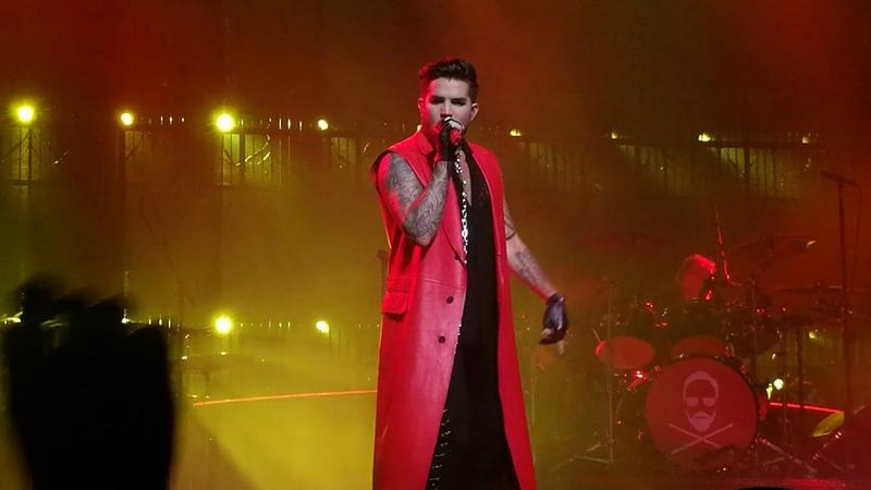 Queen Adam Lambert - Fat Bottom Girls, Hamburg, 20.16.2018