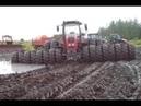 ТРАКТОРИСТ от Бога 80 уровень оффроуд на тракторах Tractors Stuck in Mud 2018 NEW