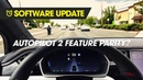 Tesla Software Update - Autopilot 2.0 Feature Parity