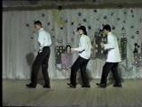 новый год 20002001 - стиляги (Сергей Михайлов, Кирилл Супрун, Рома, Ася)