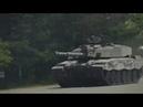Британские танки Челленджер в наступлении Strong Europe Tank Challenge 2018