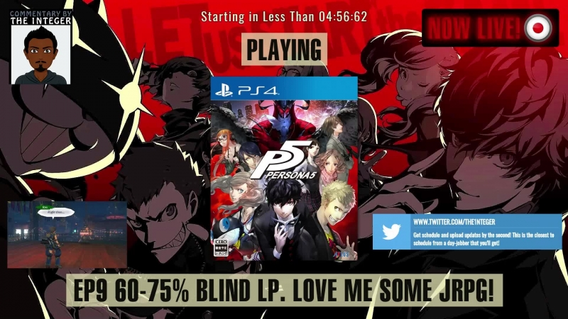 JRPG sexiness in Japan with Persona 5! [60% Blind. No Tips, Spoilers or Backseating thanks!] - Ep 9 [ENG]