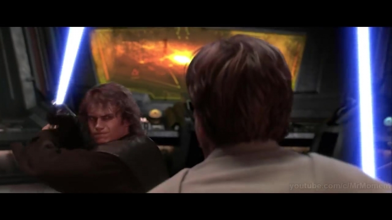 Энакин Скайуокер (Дарт Вейдер) против Оби-Вана Кеноби. ЧАСТЬ 2. Звёздные войны_