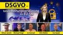 DSGVO totale Meinungsversklavung im EU Stil Datenschutz Grundverordnung 23 05 2018
