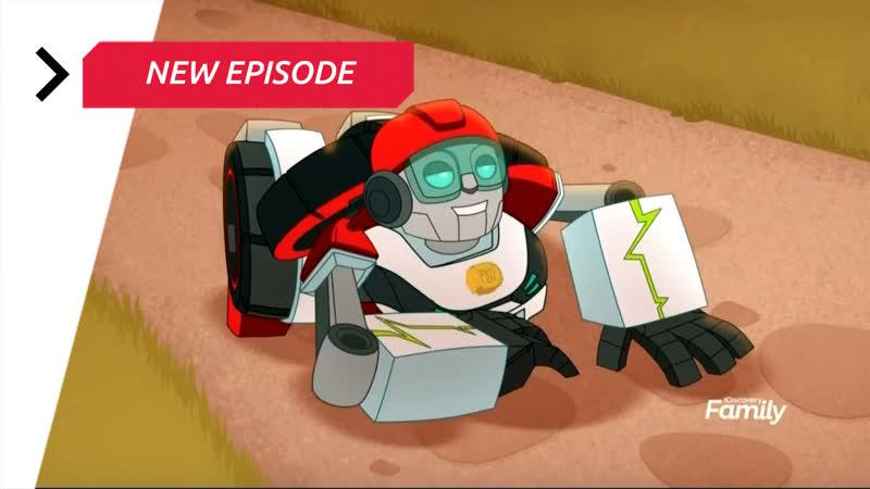 Transformers Rescue Bots Academy — Season 1 Episode 5 «Plan Bee»