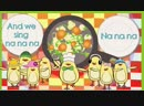 Vegetable Song - Songs for kids - The Singing Walrus