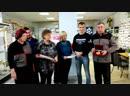 момент передачи документов по установке рекорда России в Домодедовский историк-художественный музей