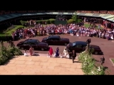 The Bridesmaids and Page boys arrive at St Georges Chapel RoyalWedding.mp4