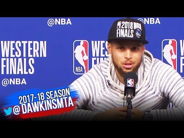 Stephen Curry Postgame Interview Warriors Rockets Game 7 2018 WCF FreeDawkins