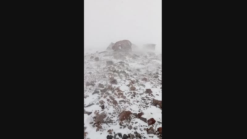 Казбек 2019 - метеостанция