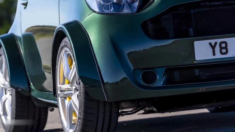 Aston Martin выпустил супермощный 435 сильный хэтчбек V8