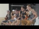 Big Time Rush Acoustic Performance Stuck SummerBreakTour