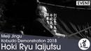 Hoki Ryu Iaijutsu Ariwaka Shigeru Meiji Jingu Kobudo Demonstration 2018