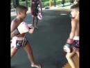 Юные бойцы