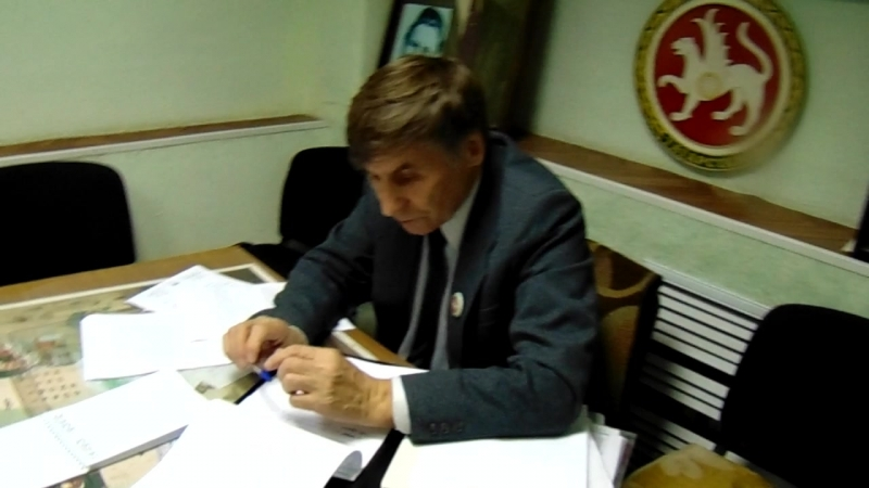 Пресконференция председателя Всетатарского Общественного центра Фарита Закиева