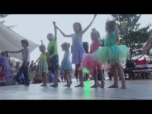 Курс детского балета Марии Воеводиной Аттраверсиамо 2018