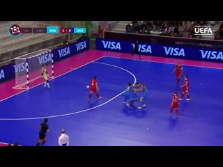 Uefa womens futsal euro 3rd_4th place highlights_ russia 2-2 ukraine (russia wi