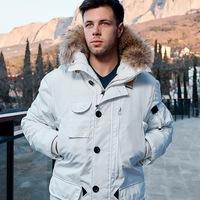 85e30e869bf Куртка мужская Scanndi Finland DM 19023a (белый)