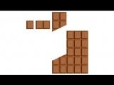 Как правильно делить шоколад о)))