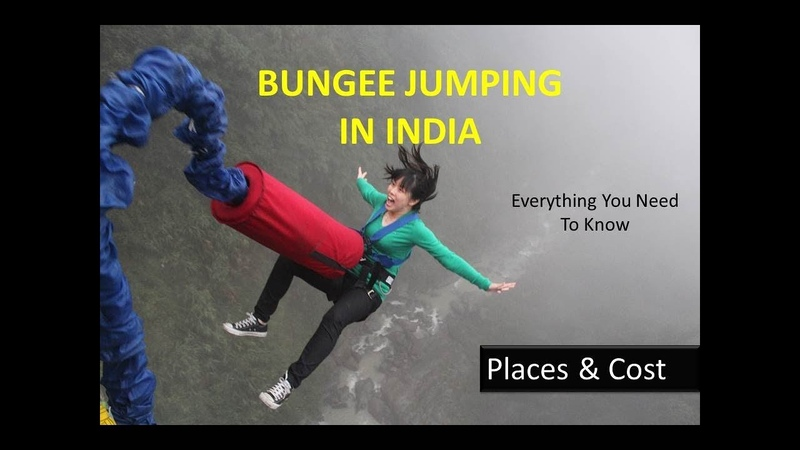 Bungee Jumping In India Places Cost