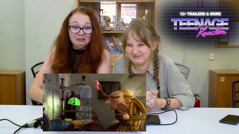 Teenage Reaction - Эля и Саша смотрят трейлеры ГОДЗИЛЛА 2, ПОХИТИТЕЛИ НОСКОВ, СЛЕДУЮЩЕЕ ПОКОЛЕНИЕ
