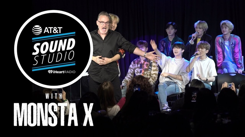 YT 17.08.2018 Monsta X Show Off Their Best Model Faces Talk Fortnite And Reenacts Scene From Titanic @104.3 MYfm