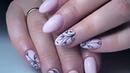 Укрепление натуральных ногтей гелем  Популярный дизайн «Сахарные бутончики»💐