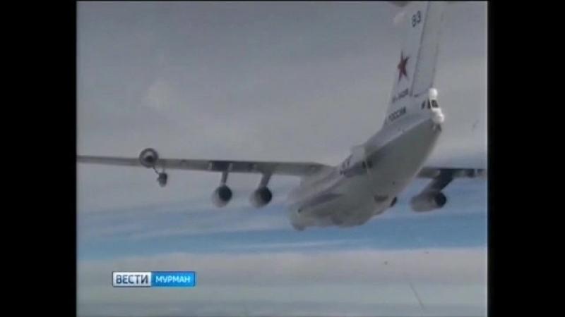 Воздушные асы. Мастерство палубных лётчиков-истребителей Северного флота. Дозаправка в небе