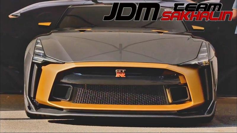Первые видео нового Nissan GTR R 50!
