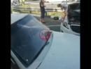 Возле гипермаркета «Магнит» произошло ДТП с участием двух легковых автомобилей. ⠀