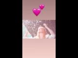 Инстаграм-история в профиле Мелани (4 июня 2018 г.)