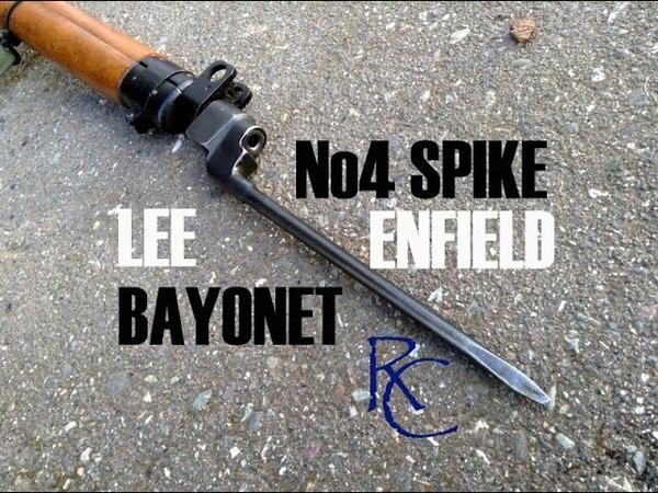 The No4 Spike Bayonet - Lee Enfield Rifle