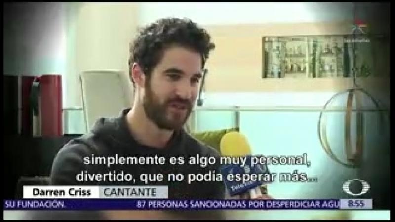 Darren Criss cautiva a miles en la CDMX Televisa News