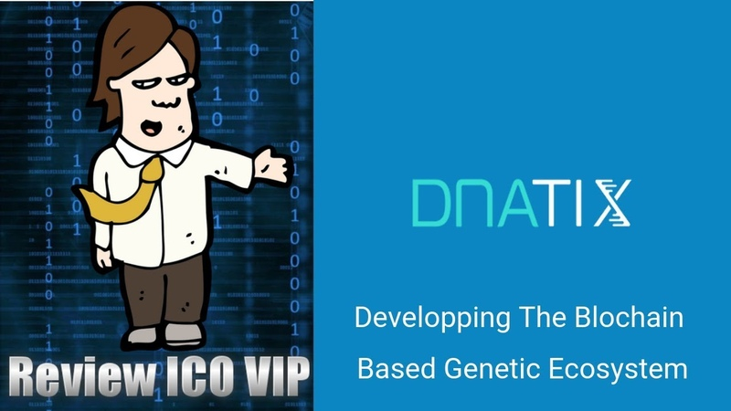 DNAtix Review ICO – Developping The Blochain Based Genetic Ecosystem